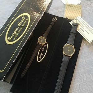 Georgio Monti matching watches